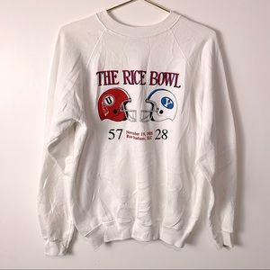 RETRO 1988 Utah Rice Bowl Sweater